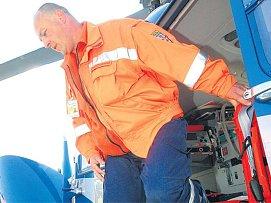 Martin Duka, letecký záchranář