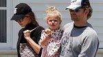 Bradley Cooper s dcerkou Leou