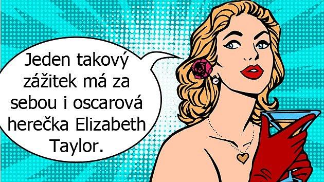 Elizabeth Taylor zažila blízkost anděla smrti. Díky němu se setkala smanželem, který jí řekl důležité poselství.