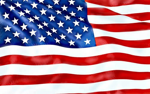 americká vlajk