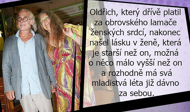 Příběh lásky mezi Oldřichem Kaiserem a Dášou Vokatou je krásný.