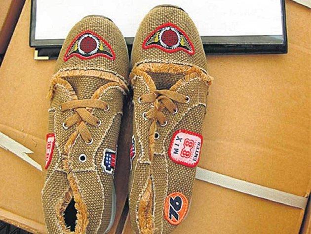 Padělaná obuv