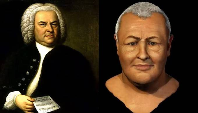 Slavný skladatel Johann Sebastian Bach.