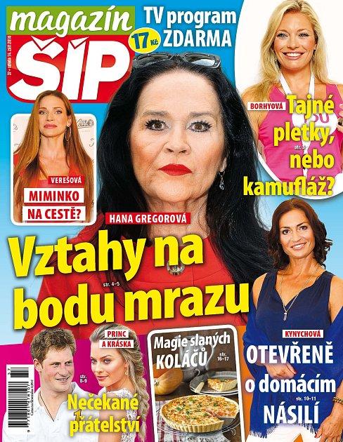 Titulní strana Magazínu Šíp 14.9.2016