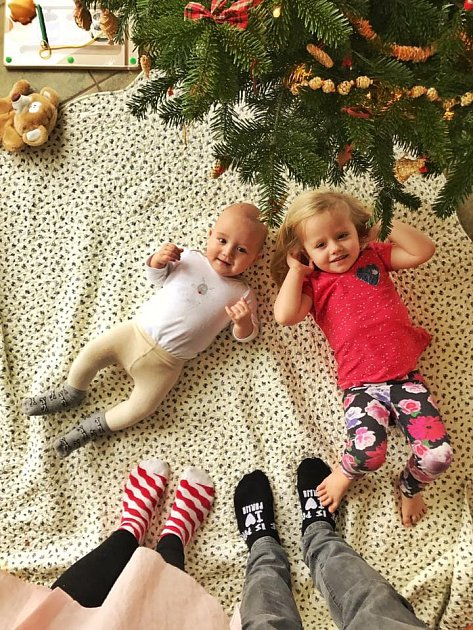 Malá Josfefínka sbráškou Alférdem jsou pýchou Tomáše Kluse.