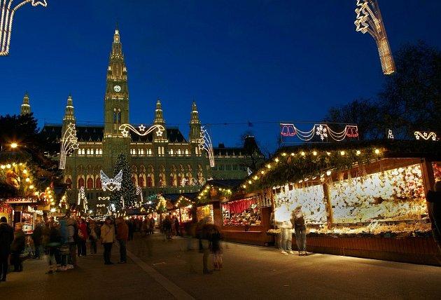 Vídeňské trhy jsou proslulé po celé Evropě.