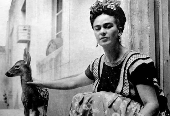 Frida Kahlo měla srnečka Graniza