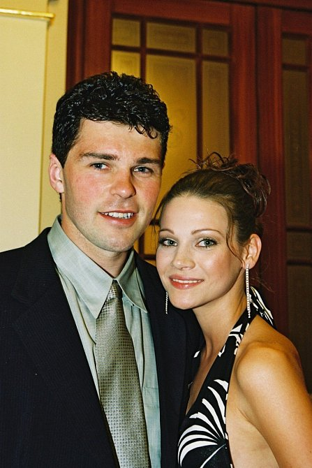 Jaromír Jágr a Verešová