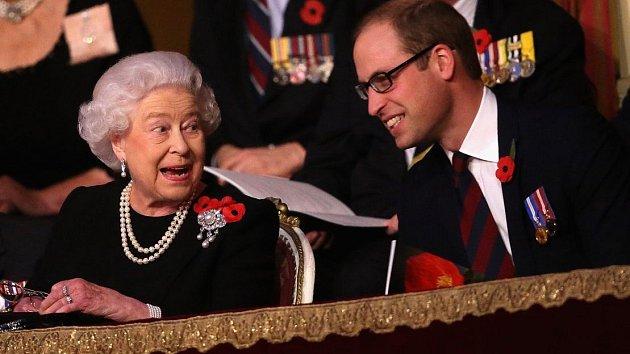 Královna Alžběta II. si sWilliamem velmi rozumí.