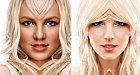 Britney vypadá trochu jako válečnice.