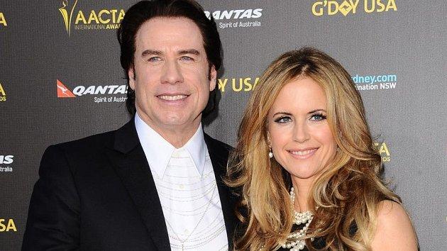John Travolta a jeho Kelly