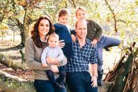 Kate Middleton, princ William, George, Louis, Charlotte