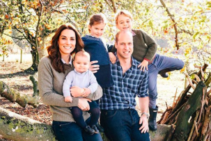 Kate Middleton, princ William, George, Louis, Charlotte