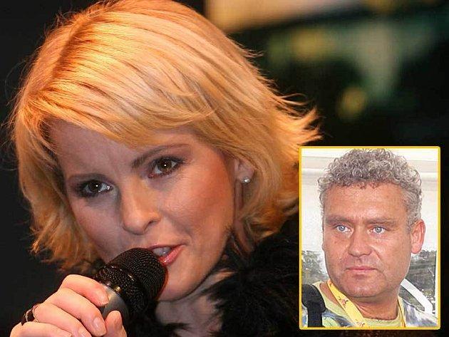 Iveta Bartošová a přítel Roman Hanke