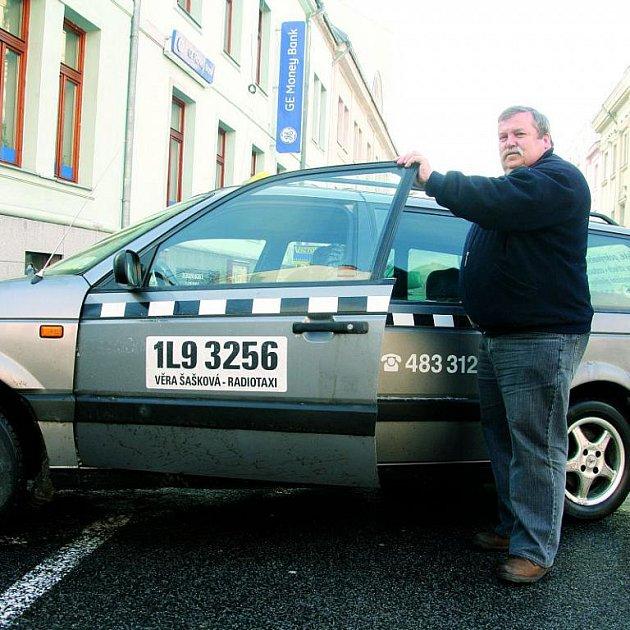 Statečný jablonecký taxikář Josef Trdla.