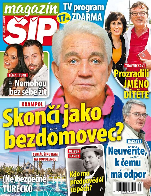 Titulní strana Magazínu Śíp 22.6.2016