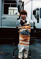 Malý Daniel Radcliffe.