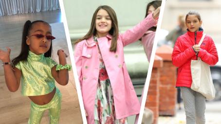 12dc76a821 NEJLÉPE OBLÉKANÉ děti celebrit  Za outfity utratí MILIONY! - Šíp