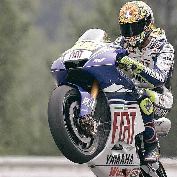 Valentino Rossi chce v Brně opět vyhrát.