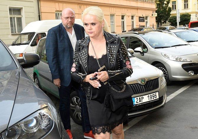 Monika Štiková s bývalým manželem Petrem