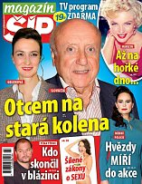 Titulní strana Magazínu Šíp 23.11.2016