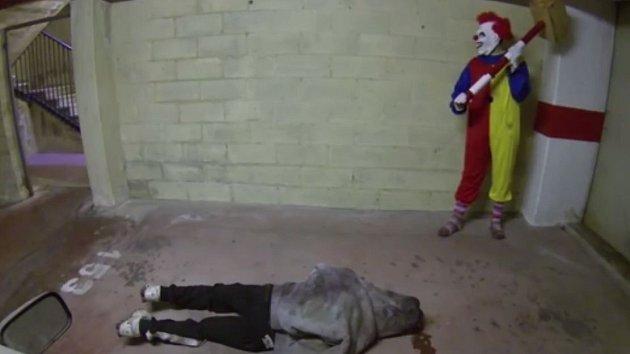 Tento klaun určitě  není pro děti...