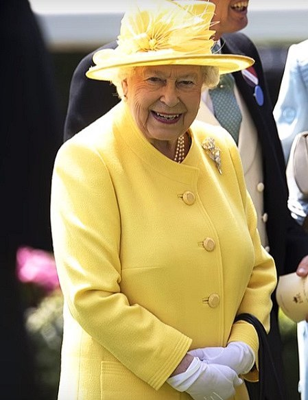 Malá princezna, zníž se stala královna Alžběta II.