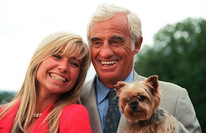 Díky manželce Nathalii se stal v sedmdesáti už počtvrté otcem.