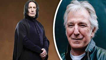 Zemřel Alan Rickman alias Severus Snape.