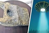 Ne, skutečně to není sekerka ani kladivo. Našel se vAiudu mimozemský artefakt?