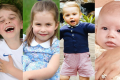 Královské děti - Princ George, princezna Charlotte, princ Louis, Archie Harrison