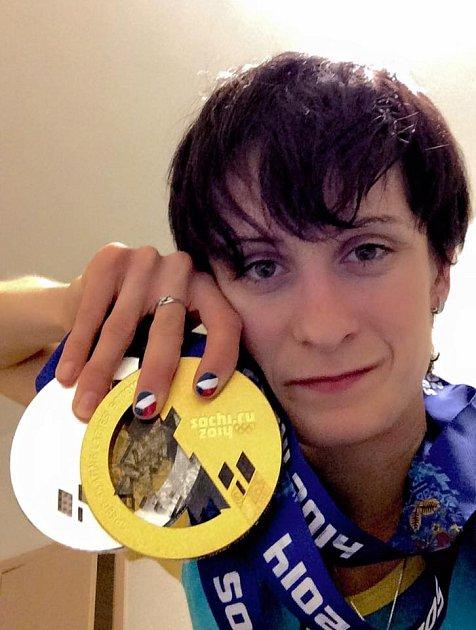 Před dvěma lety na zimních hrách vSoči získala zlato a bronz!