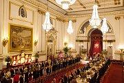 Jídelna v Buckinghamském paláci