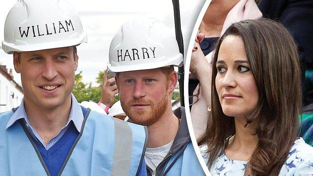 William, Harry... a Pippa! Budou ještě více propojeni?