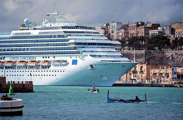 Costa Concordia vdobách své slávy