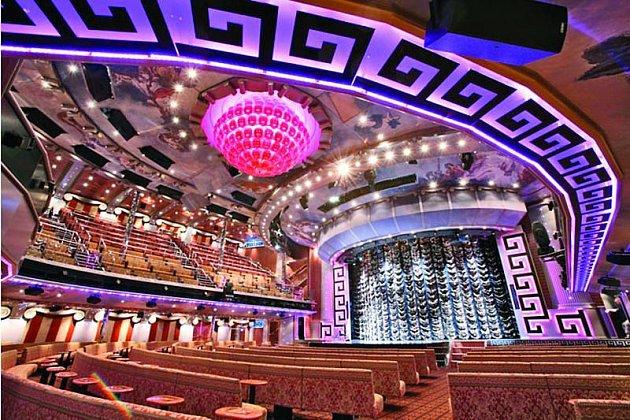 Costa Concordia: Na parníku nechybělo třípatrové divadlo