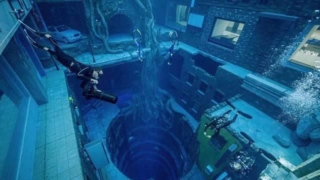 Nejhlubší bazén na světě Deep Dive Dubai