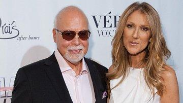 Céline Dion s manželem