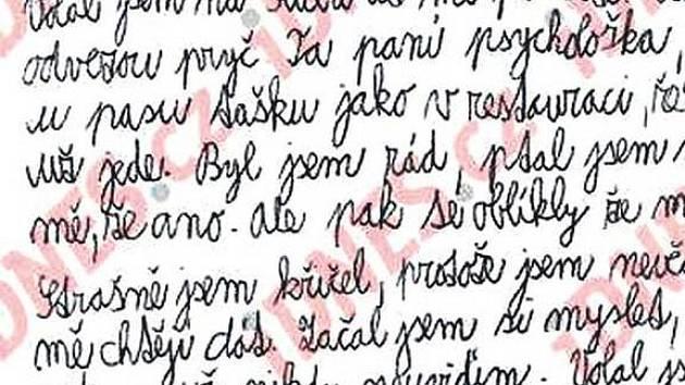 Záhadný dopis