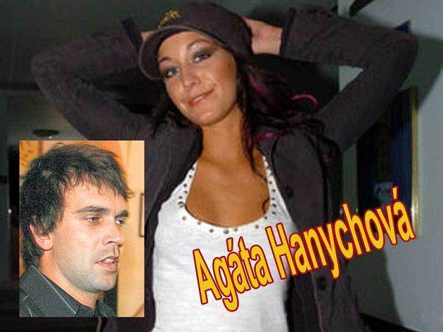 Agáta Hanychová a její přítel Marek