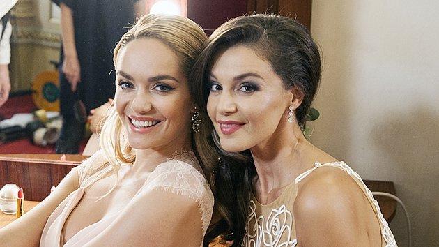 Táňa Kuchařová a Iva Kubelková