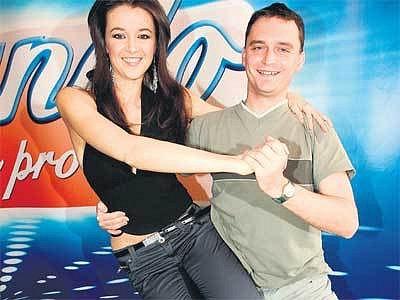Iva Kubelková s tanečním partnerem