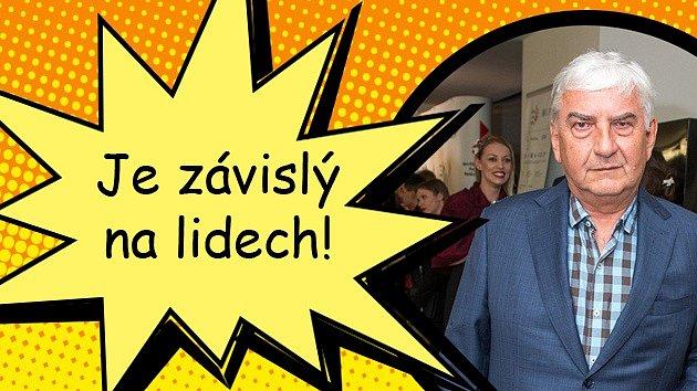 Miroslav Donutil opustil roli vseriálu Doktor Martin a vrací se ktalkshow.