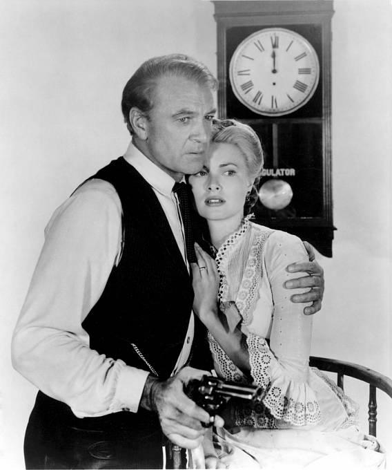 Slavný western Vpravé poledne (1952). Nasnímku sGrace Kelly.