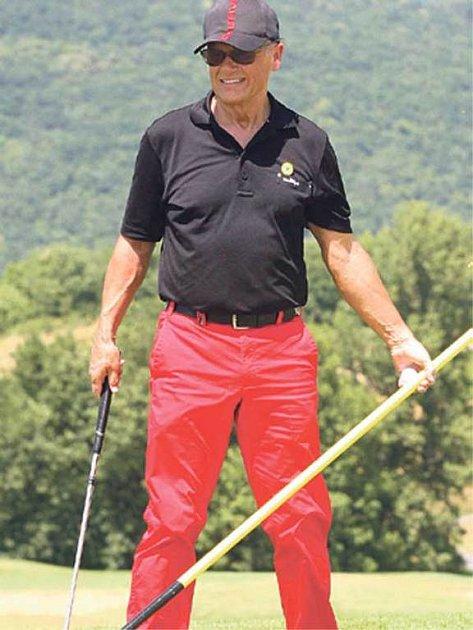 Jiří Korn oslňoval nejen výkony, ale iskvělým outfitem.