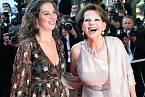 S dcerou Claudií na festivalu v Cannes v roce 2007