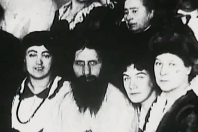Rasputin s ženami.