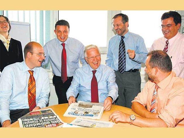 Vedení společnosti VLP