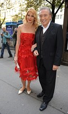 Karel Gott s manželkou Ivanou v roce 2014