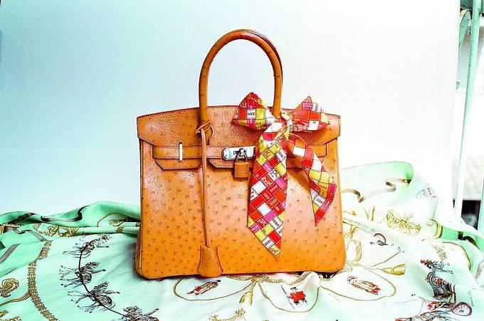 """Slavná """"Birkin bag"""""""